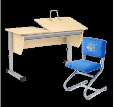 Комплект стол Осанка 120 ТБТ + стул Дэми