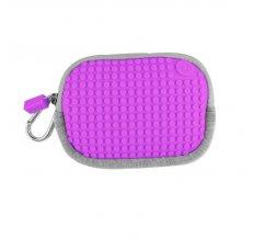 Маленькая пиксельная сумочка Pixel Cotton Pouch WY-B006 Фиолетовый