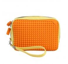 Ручная сумка Клатч Canvas Handbag WY-B003 Желтый-оранжевый