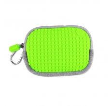 Маленькая пиксельная сумочка Pixel Cotton Pouch WY-B006 Светло-зеленый