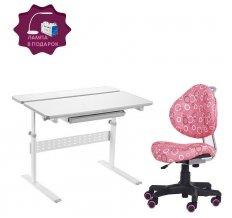Комплект для школьника COLORE GREY + кресло SST5