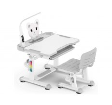 Комплект парта и стульчик Mealux BD-04 New XL (с лампой)
