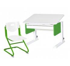 Комплект Астек-Элара растущая парта трансформер юниор + растущий стул SK2. Большой лоток в подарок!