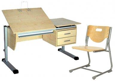 Комплект 120 ТТ + стул SF3 + книгодержатель
