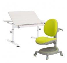 Парта-трансформер М6+XS (газ-лифт, большой лоток)+Кресло Z-Max 05