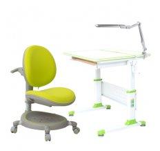 Парта-трансформер Rifforma Comfort-80 + Кресло Z-max 05 + Cветильник TL11S