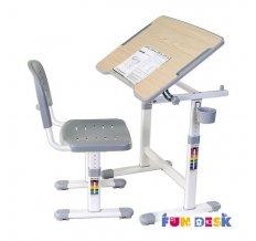 Растущая детская парта и стул FunDesk Piccolino II