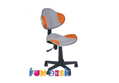 Детское компьютерное кресло FunDesk LST3 Orang-Grey